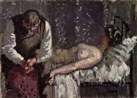 cc commons.wikimedia.org Walter Sickert What Shall We Do for the Rent 1908