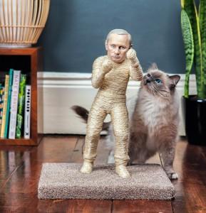 Putin Cat Scratching Post