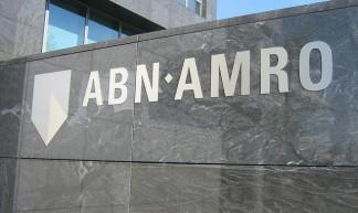 ABN Amro logo in monochrome - DennisM2