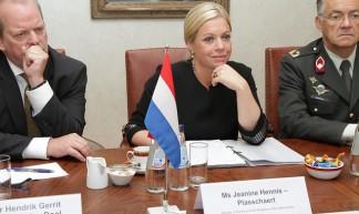 Edgars Rinkēvičs tiekas ar Nīderlandes aizsardzības ministri - Latvian Foreign Ministry