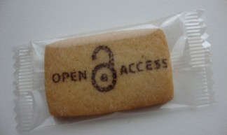 Open Access cookie - biblioteekje