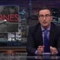 John Oliver over de regelmaat waarmee de Amerikaanse regering drones inzet om…