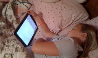 Future of the bed time story #ipad - schnaars