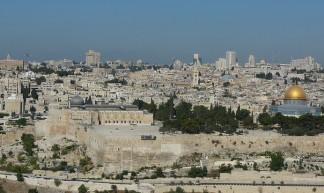 Jerusalem - Cycling man