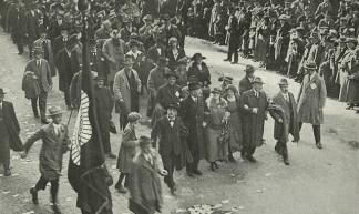 Demonstratie tegen de vlootwet, 1923 - IISG