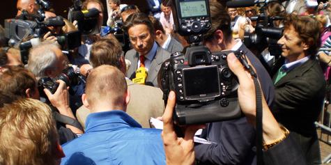 Maxime Verhagen als leider van het CDA in 2010