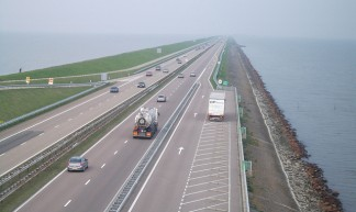 The Afsluitdijk Causeway in The Netherlands - Paul Smith