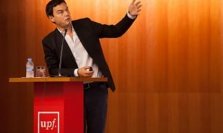 Thomas Piketty imparteix la 25a. edició de la Lliçó d'Economia - Universitat Pompeu Fabra