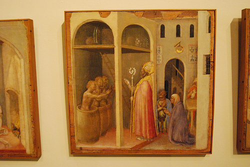 cc Flickr Jim Forest photostream  St Nicholas Fra Angelico painted about 1437