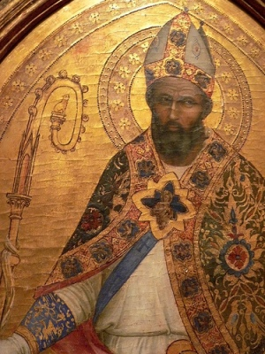 cc Flickr Mary Harrsch photostream Saint Nicholas of Bari by Giovanni Bonsi Florence Italy 1365