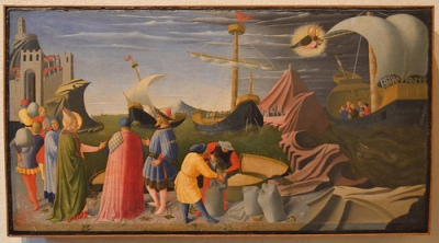 cc Flickr Richad Mortel photostream Fra Angelico, Story of St. Nicholas of Bari, 1437, Vatican Museums 2