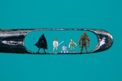 cc Flickr toybot studios Micro Sculptures by Willard Wigan