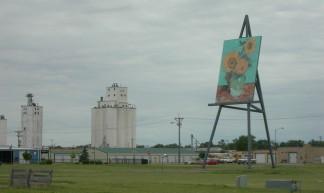 "Giant Van Gogh ""Sunflowers"" - Jimmy Emerson, DVM"