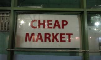 Cheap market, Chinatown - Joel Abroad