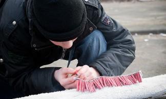 31 december 2008 - vuurwerk afsteken - Marco Nedermeijer