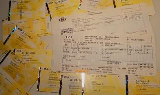 Travel, Tickets, From The Month - Nik Morris (van Leiden)