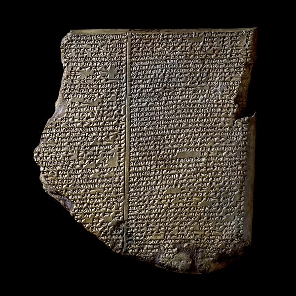 Het Zondvloedtablet (© Trustees of the British Museum)