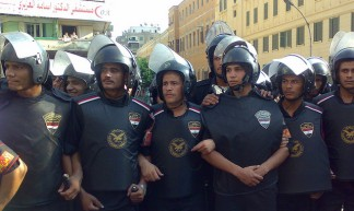 Riots Police Surrounding the Protest - Ramy Raoof