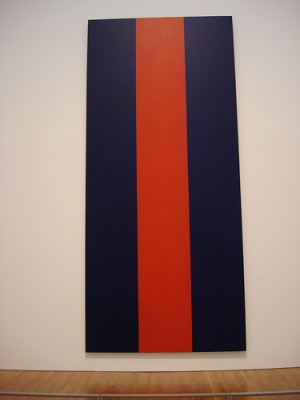 cc Flickr Steven Lee photostream the national gallery Barnett Newman Voice of Fire