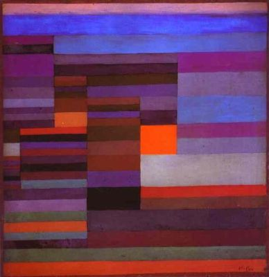 cc commons.wikimedia.org Fire in the Evening Paul Klee