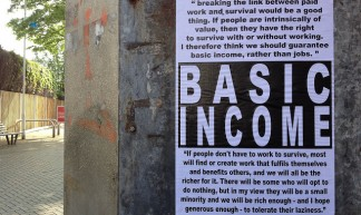 Unconditional Basic Income - rUssEll shAw hIggs