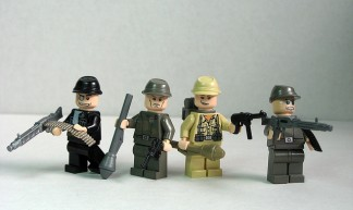 German World War 2 soldiers - Andrew Becraft