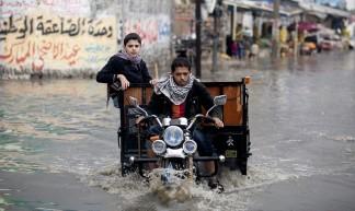 Palestinian-gaza-weather-flooding - Globovisión