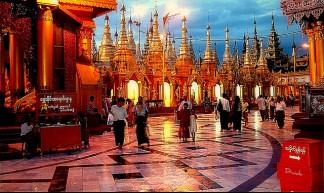 Myanmar/Birmania/Burma -yangon -gran pagoda de shewedagon paya - Jose Javier Martin Espartosa