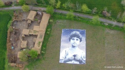 © NotABugSplat art installation targets predator drone operators