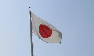 Hiroshima Japanese flag - Michael O'Donnabhain