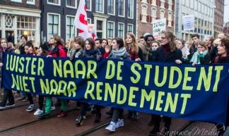 Amsterdam - Demonstratie Bungehuis naar Maagdenhuis - Laauwen Media