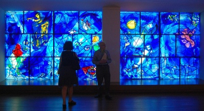 cc Flickr UGArdener photostream Inside the Art Institute of Chicago - Chagall American Windows