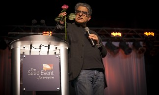Deepak Chopra at the Vancouver Seed Event - Rishad Daroowala