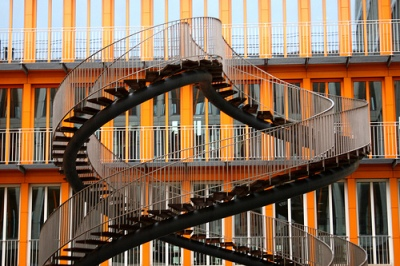 cc Flickr Alaskan Dude photostream staircase at the KPMG Building in Munich