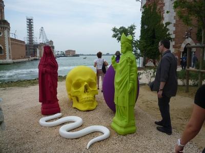 cc Flickr Art Fag City photostream Katharina Fritsch 6th Still Life Installation view at the 54th Venice Biennale, 2011