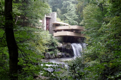 cc Flickr brdonovan photostream Fallingwater Frank Lloyd Wright