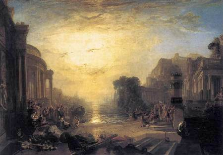 "William Turner, ""De ondergang van Karthago"" (1817)"