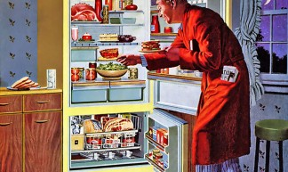 1959 ... fridge raid! - James Vaughan