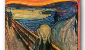 Edvard Munch The Scream - Lou Gold
