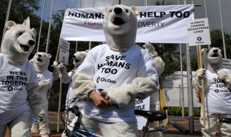 Polar Bears Fight Climate Poverty - Oxfam International