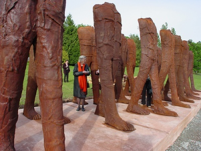 cc Flickr jmv photostream Vancouver Sculpture Biennale, with Magdalena Abakanowicz 13
