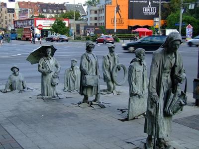 cc Flickr peregrinari photostream The Pedestrians, a sculpture in Wroclaw