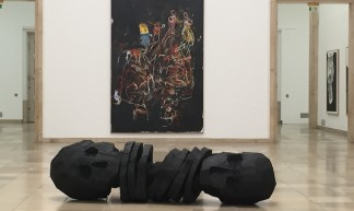 Georg Baselitz exhibit, Haus der Kunst, Munich - CTG/SF