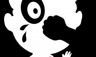 Cartoon against violence, Welleman