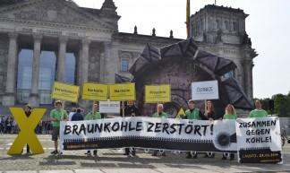 Mobi-Bilder zur Anti-Kohle-Kette am 23.08. - Uwe Hiksch