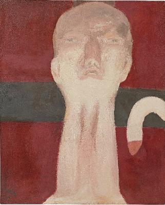 cc Flickr Cea photostream Georg Baselitz - Idol (1964)