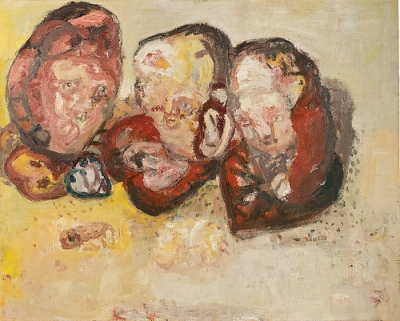 cc Flickr Cea photostream Georg Baselitz - Three hearts (1963)