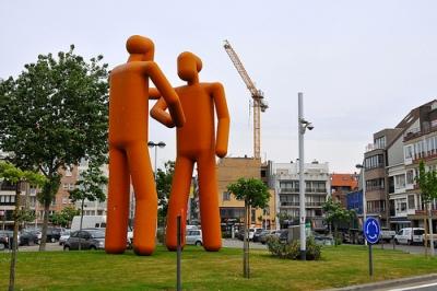 cc Flickr FaceMePLS photostream Kunst Abraham Hansplein Knokke