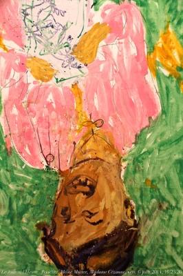 cc Flickr Renaud Camus Georg Baselitz, Meine Mutter, Madame Cézanne,1996