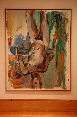 cc Flickr arcticpenguin Georg Baselitz. Male nude self portrait